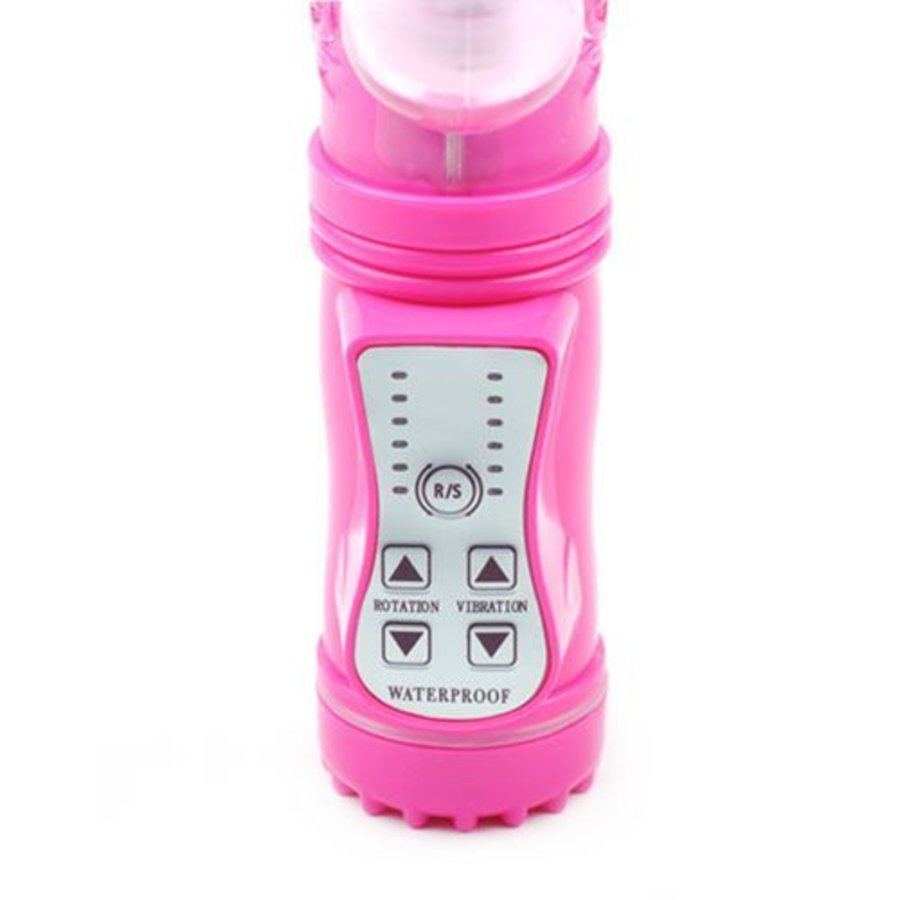 EasyToys Stotende Rabbit Vibrator - Roze