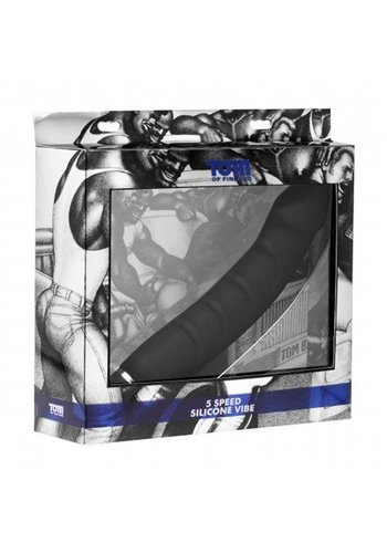 Tom of Finland Siliconen Prostaat Vibrator 5 Vibraties