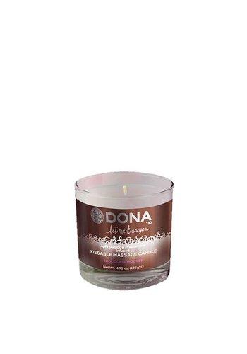 Dona-by-Jo Dona Kissable Massage Candle Chocolate