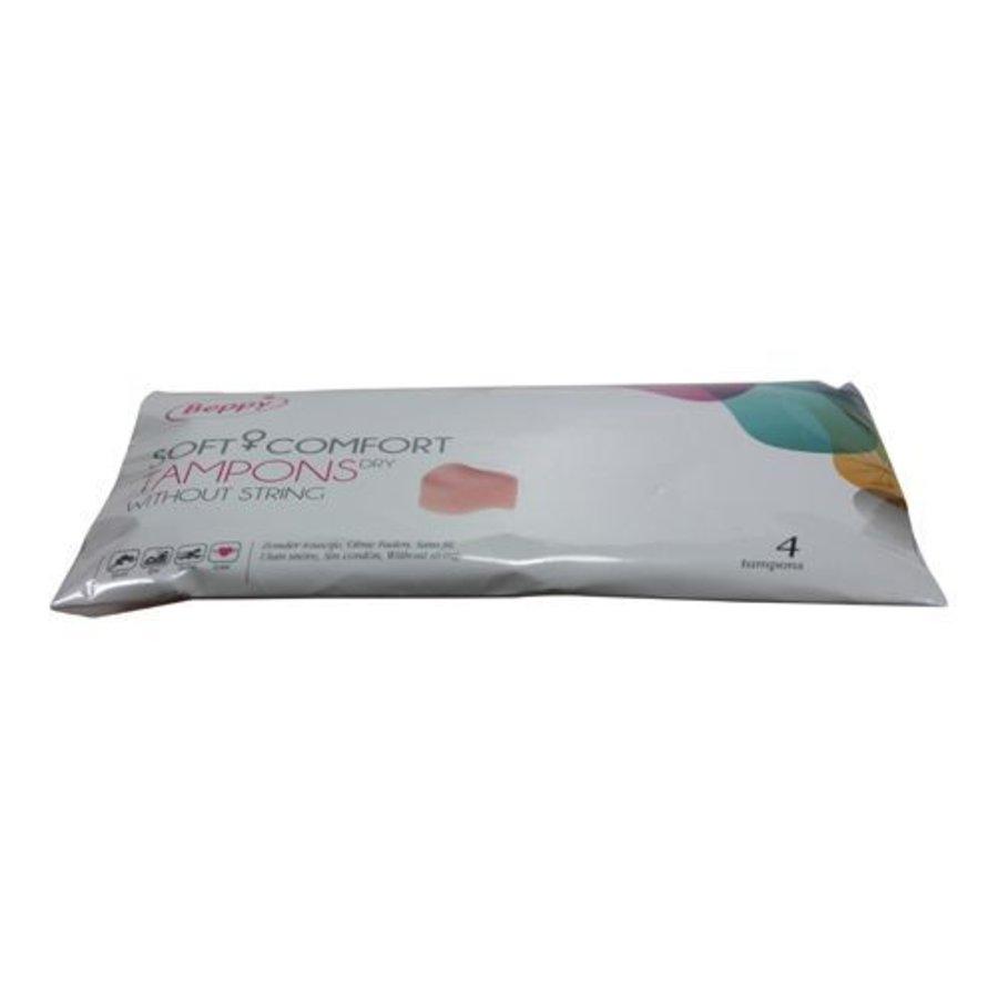 Beppy Soft + Comfort DRY Tampons - 4 stuks