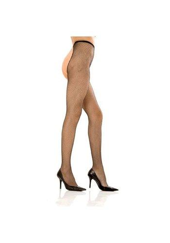 Rene Rofe Crotchless fishnet pantyhose