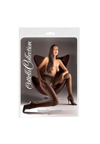 Cottelli Collection Sex panty met open kruis
