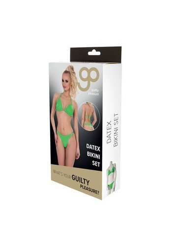 Guilty Pleasure GP Datex BH Set - Groen