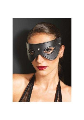 KINK Kunstleren masker met studs