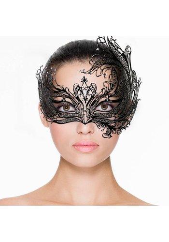 Easytoys Fetish Collection Easytoys Open Venetiaans Masker - Zwart