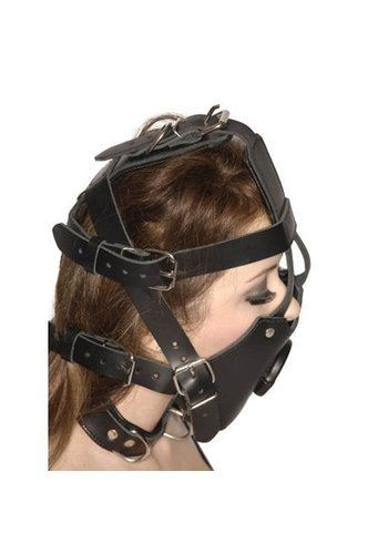 Master Series Strict Leather Premium Open Mond Gag