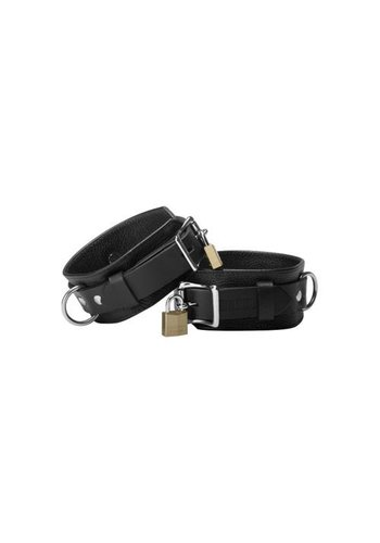Strict Leather Strict Leather Deluxe Locking Cuffs - Large