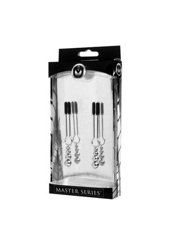 Master Series Sierlijke kralen tepelklemmen