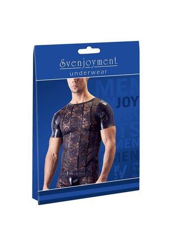 Svenjoyment Underwear Kanten Shirt Met Wetlook Zijkanten
