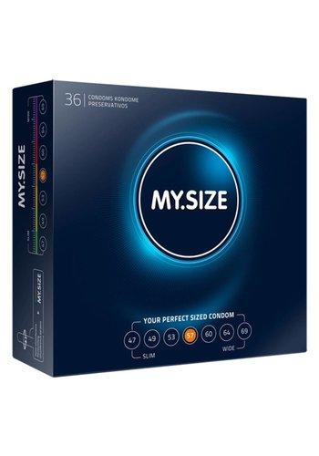 My.Size MY.SIZE 57 mm Condooms 36 stuks