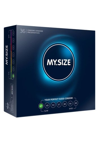 My.Size MY.SIZE 47 mm Condooms 36 stuks