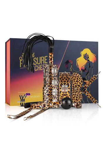 Secret Pleasure Chest BDSM Set - Luipaardprint
