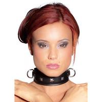 Leren Halsband Met Studs