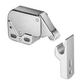 Snapslot Mini latch metaal met kunststof houder wit