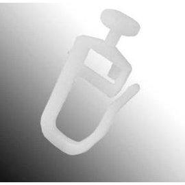 Gordijnrunner  nylon á 20 st