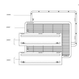 Dometic Inbouw Frame L500
