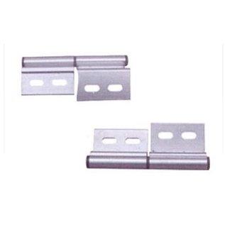 Aluminium deurscharnier links
