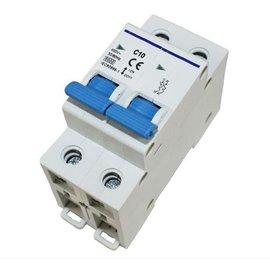 Dubbelpolige zekeringsautomaat 10 amp  of 16 amp