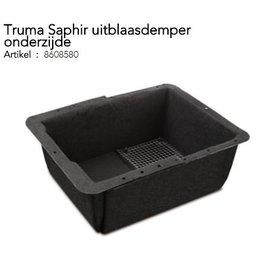 Truma Saphir uitblaasdemper onderzijde