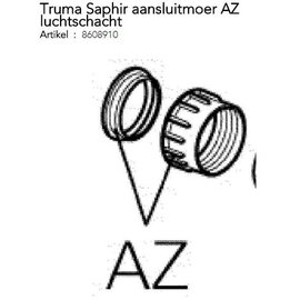Truma Saphir aansluitmoer AZ luchtschacht