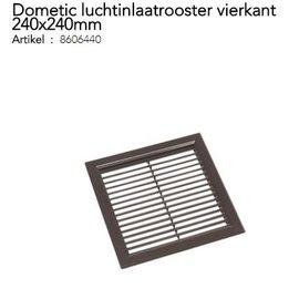 Dometic Luchtinlaatrooster vierkant 240x240mm