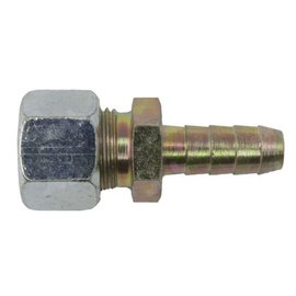 Knelkoppeling + slangpilaar 8 mm
