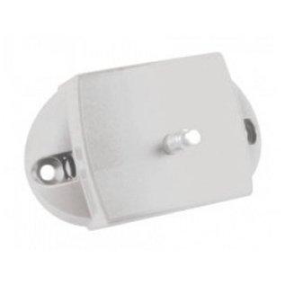 Pushlock kast- en/of toiletdeurslot wit