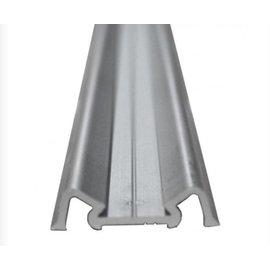 Afdeklijst Aluminium 26 mm Zilver