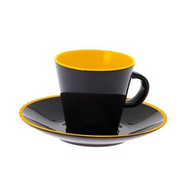 Gimex Yellow Espresso set 2st-4dlg