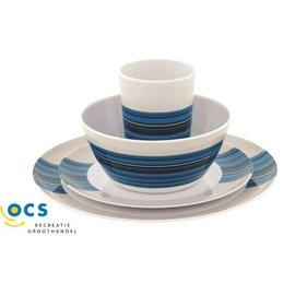 Outwell Blossom Picknick Set 2 Persoons Columbine Blue