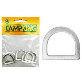 D Ring aluminium 13 mm á 10 st