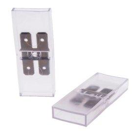 Doorverbindconnector 2 polig (5X)