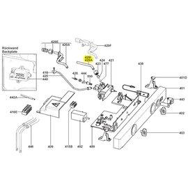 Dometic gasaansluiting kompleet D=8/1x99mm