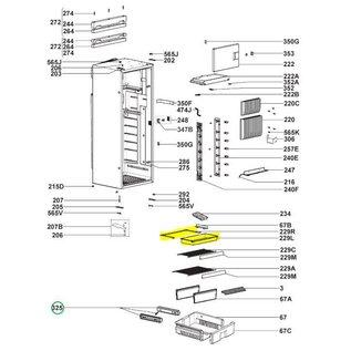 Dometic Schuiflade voor RML9430