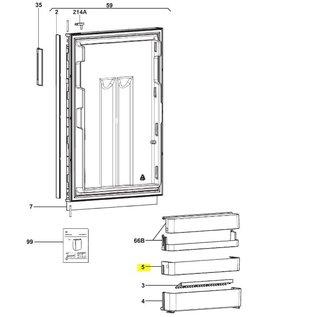 Dometic Dometic Deurbak Midden RM85XX
