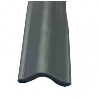 Inlegbies  zilver grijs 18 mm