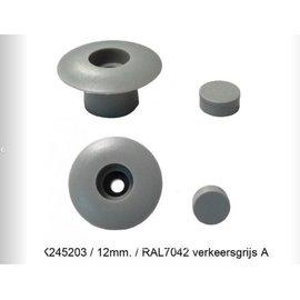 Knaus Tabbert Knaus Bumperdopjes verkeersgrijs 12 mm