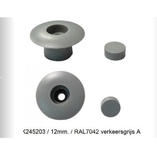 Knaus Tabbert Knaus Bumperdopjes verkeersgrijs 12mm RAL7042