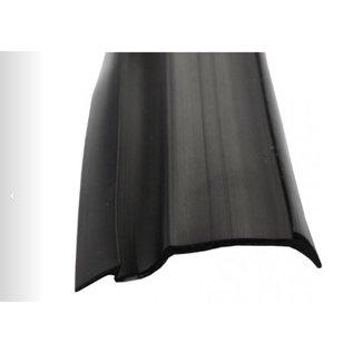 Onderlegrubber zwart 22 mm o.a. Tabbert rol 45 meter
