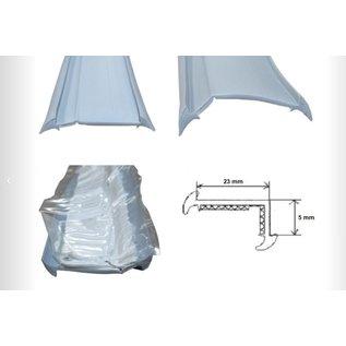 Onderleg rubber  32 mm o.a. Knaus van 2004 tot 2011  rol 45 meter