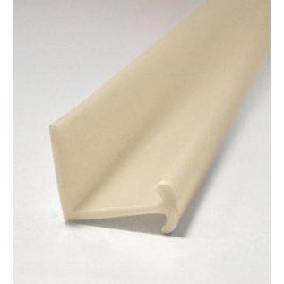 Gordijnlijst PVC VE 2.5 meter