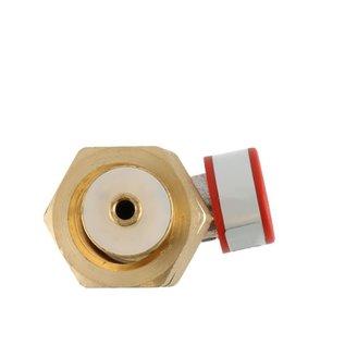 Slangbreuk ventiel Kombi X 3/8 inch links