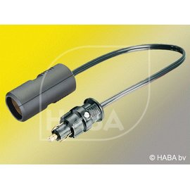 HABA 12 v adapter st. stekker kontra