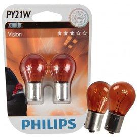 Philips 12496NAB2 PY21W Premium