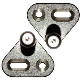 Metalen sluitpennen voor spanjoletstang