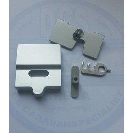 Dometic Deurvergrendeling RM 7xx  Zilver