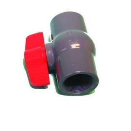 Aftapkraan 40 mm slangverbinder