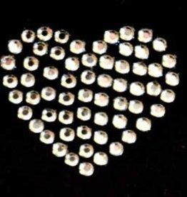 Niiniix Oeteldonk strass hartjes dicht 3 stuks