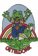 regenboog Oetel met tekst Oeteldonk