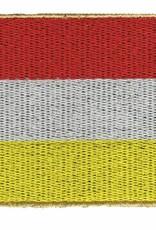 vlag oeteldonk  rood / wit / geel